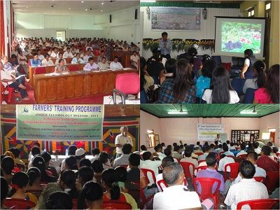 Training of Farmers, Manipur